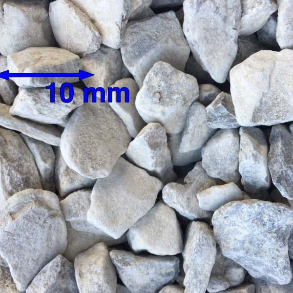 10mm Clean Carboniferous Limestone