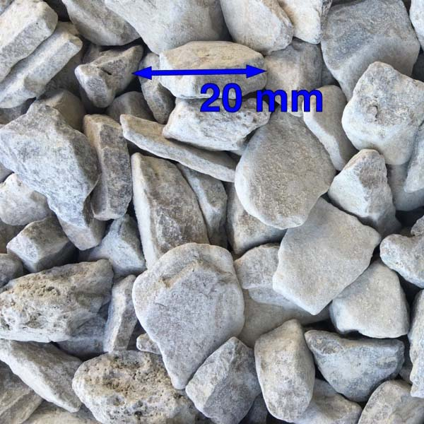 20mm Clean Carboniferous Limestone