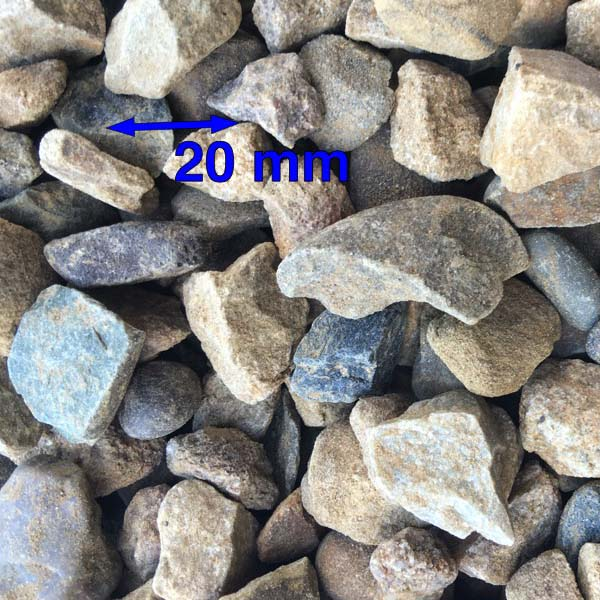 20mm Washed Gravel
