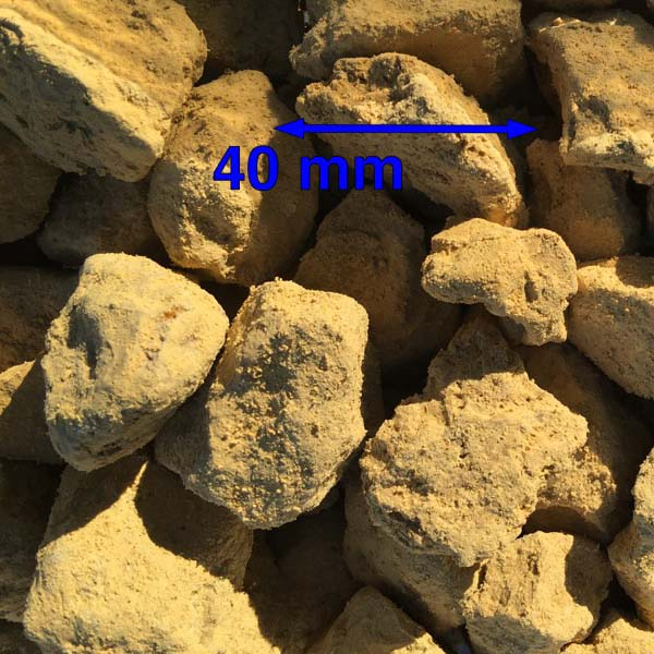 40mm Clean Magnesium Limestone