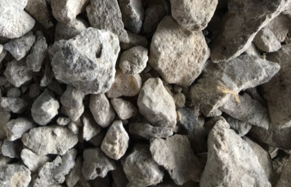 Clean Crushed Concrete