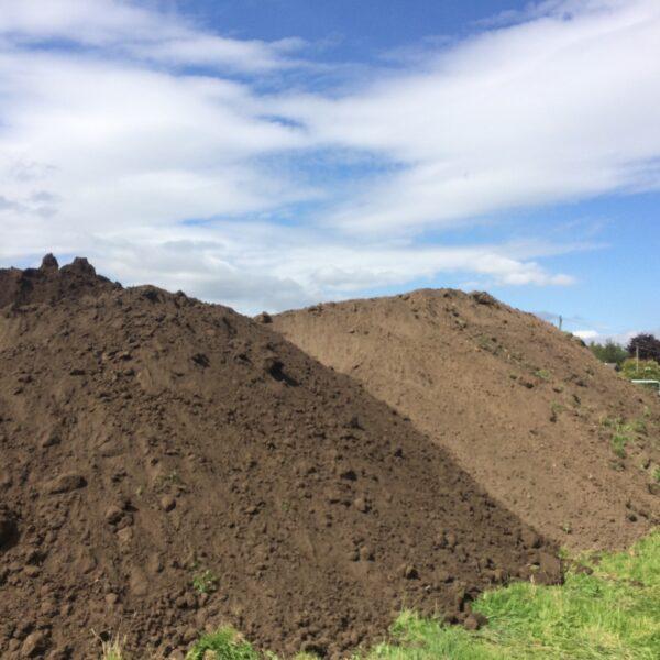Top Soil stock pile