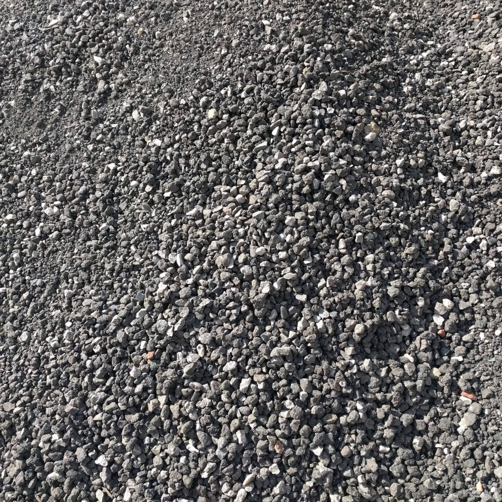 Image of recycled road planings close up